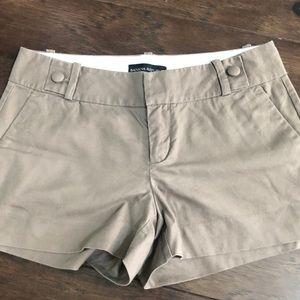 Banana Republic size 2 brown shorts
